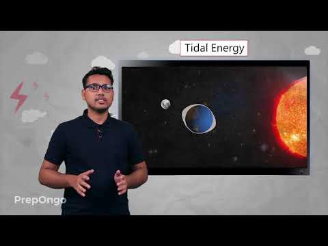 Ocean Energy - Tidal Energy