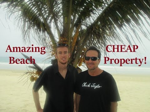 Amazing Cheap BEACH Property - Ecuador vs.USA Beach Real Estate VLOG