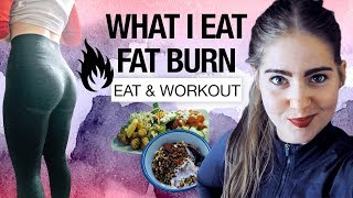WHAT I EAT IN A DAY | Day in the Life | FAT BURN : HIIT, cardio, PUSH DAY
