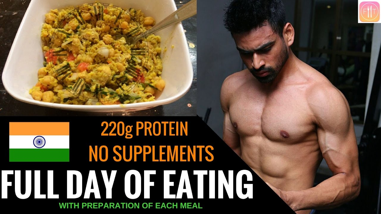 Full Day Of Eating Indian Bodybuilding Diet Youtube