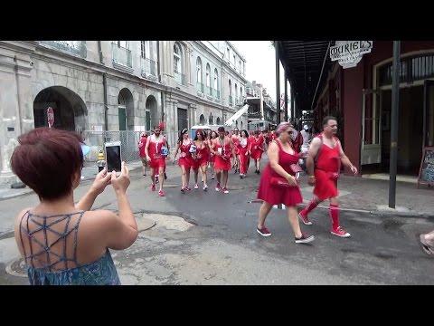 Red Dress Run - New Orleans 2016