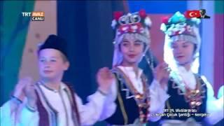 Makedonya - 23 Nisan 2017 Çocuk Şenliği Gösterisi - Nevşehir - TRT Avaz