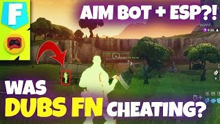 Fortnite News | Dubs FN Accused of Cheating in Fortnite World Cup Qualifier with this Evidence