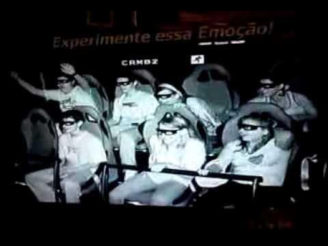 cinema 4D shopping continental / alunos do misericordia