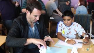CBS Television Studios Visits Children