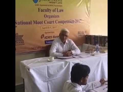National Moot Court Competition-2017