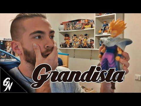 UNBOXING / Super Saiyan Son Gohan Figura Grandista Dragon Ball Z Banpresto