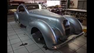 D.TESSIER - Restauration Talbot T23 carrosserie Figoni / Talbot T23 coachwork by FIGONI restoration