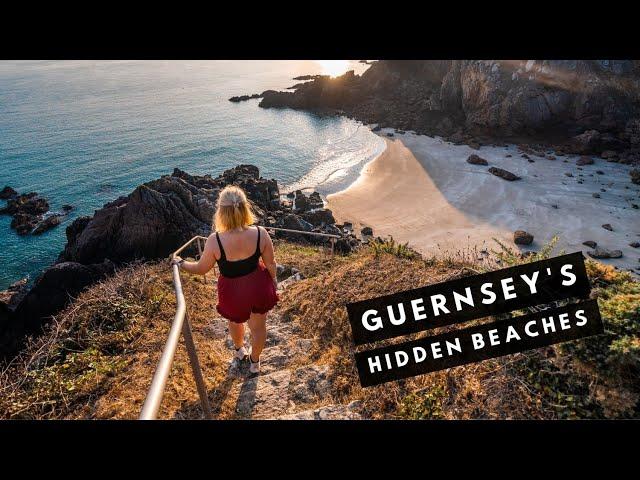 GUERNSEY MORNING SWIMS | Discover the HIDDEN BEACHES in Guernsey