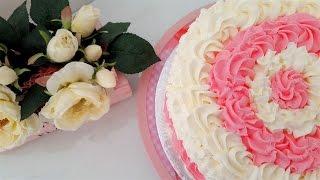 Decorare una torta in modo semplice e veloce - How to decorate a cream cake fast and easy