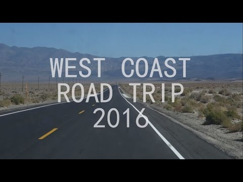 USA WEST COAST ROAD TRIP 2016