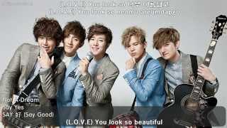 세이예스 Say Yes - Not A Dream (꿈이 아니야) (ENGSUB + Hangul + Romanized Lyrics) HD 720p