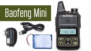 Baofeng Mini BF-T1 - дуже маленька радіостанція. Перевірка, розбирання, огляд.