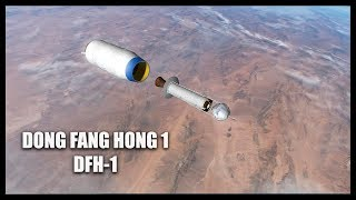 Dong Fang Hong 1 DFH 1 Orbiter Space Flight Simulator