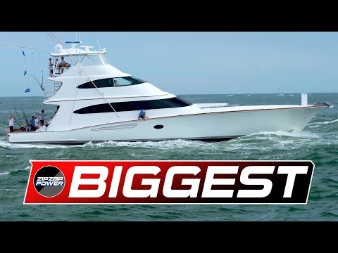 The Biggest Sportfishing Yachts / White Marlin Open / 70' To 97'