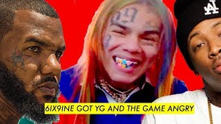 connectYoutube - The Game and YG REACTION to Tekashi 6IX9INE 'blood Walk' ANTHEM '6IX9INE IS A FAKE CLOWN MEMBER'