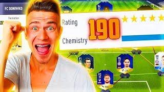 СОБРАЛ СОСТАВ 190 !!! ПОСЛЕДНЯЯ СЕРИЯ !? ✪ FIFA 18 UT - ДОНЫШКО ✪ [#40]