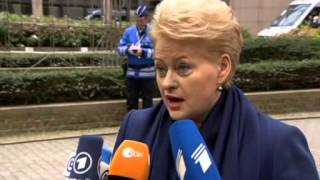 Russia effectively at war with EU - Lithuanian president
