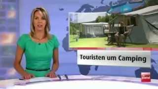 Journal RTL.LU TV (Reportage Camping Bissen)