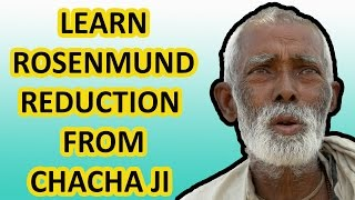 ROSENMUND REDUCTION : How to learn Organic Chemistry Reactions? : TRICK | HINDI