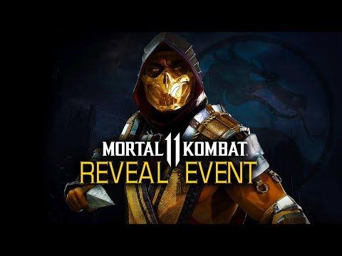 Mortal Kombat 11 Official Gameplay Reveal Event thumbnail