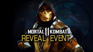 Mortal Kombat 11 Official Gameplay Reveal Event thumbnail