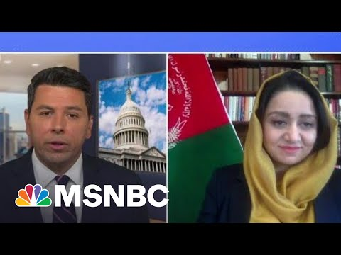Amb. Roya Rahmani On Withdrawal Of US Troops From Afghanistan   Ayman Mohyeldin   MSNBC