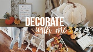 FALL Decorate With Me!! | Decorating for FALL 2018!!!