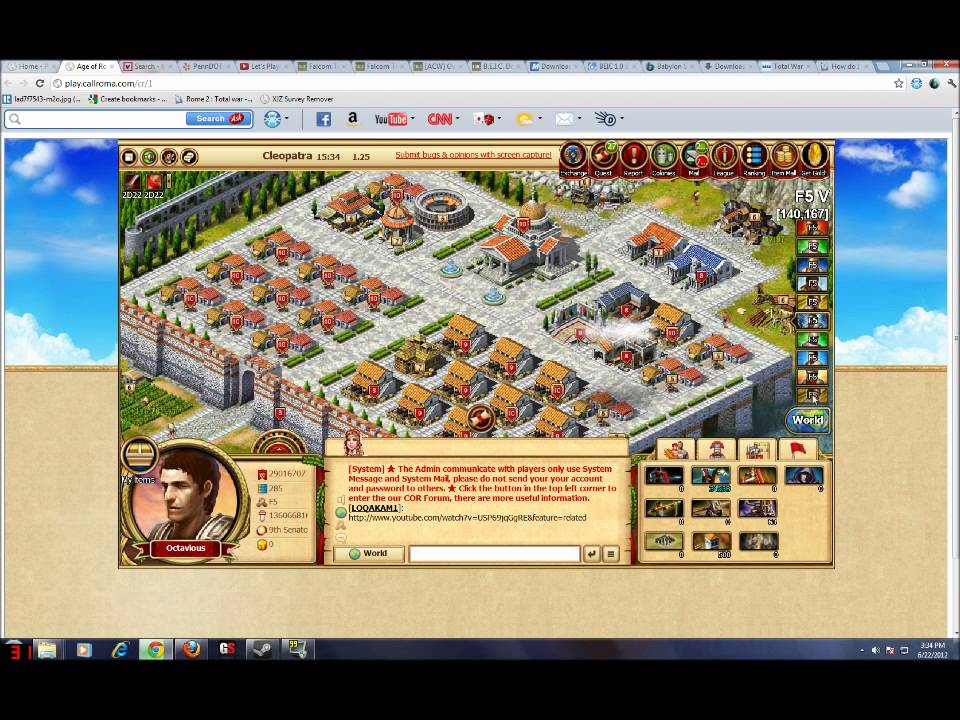 Call Of Roma Walkthrough 02 How To Get Civilis And Galicos Hd
