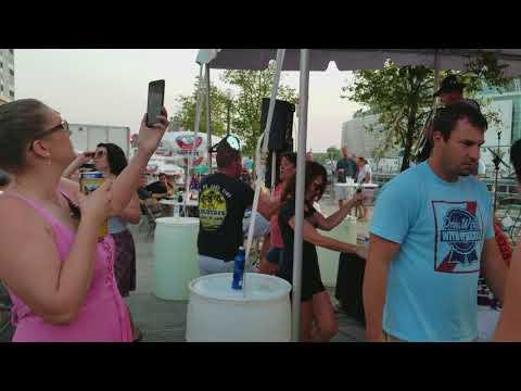 The Zinzinnati Bierband at the 2017 Cincinnati Oktoberfest. Video 2 (Samsung Galaxy Note 8 Video)