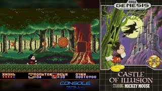 Castle of Illusion Starring Mickey Mouse (Sega Mega Drive / Genesis) - прохождение игры