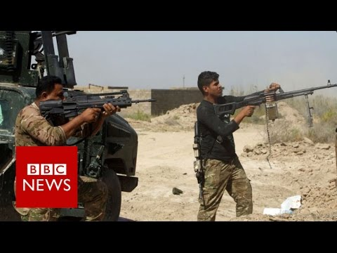 IS 'losing ground' in Falluja - BBC News