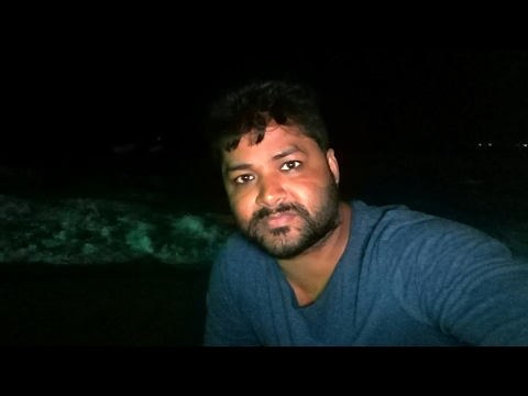 sri lanka gold face sea beach resort night video