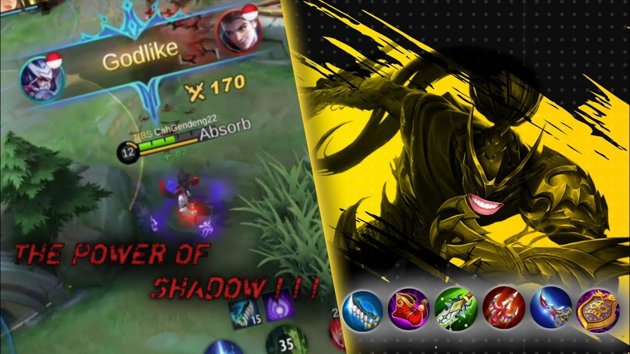 HAYABUSA GAMEPLAY TERBARU | THE POWER OF SHADOW - Mobile Legends Indonesia