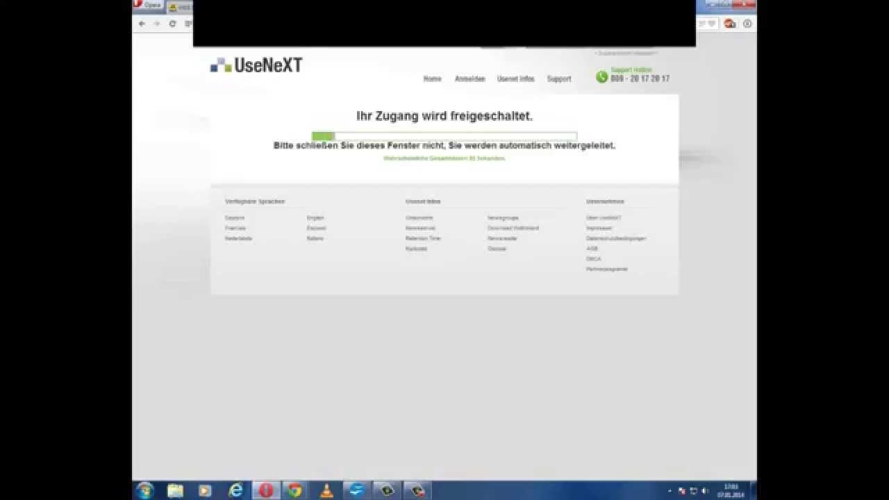 Usenext Client Herunterladen und Einrichten - YouTube