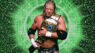 WWE Triple H Theme Song My Time (Low Pitched)