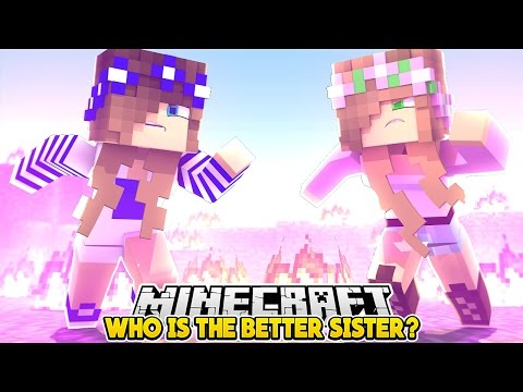 WHO'S BETTER? LITTLE KELLY OR LITTLE CARLY??? - Minecraft Little Club Adventures