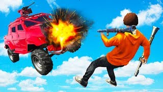 HE DIDN'T STAND A CHANCE! - GTA 5 Funny Moments