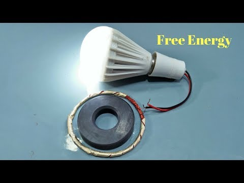 Make Free Energy With Copper Coil 100% Real Now Use Free Electricity