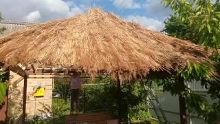 видео Беседка в саду своими руками, изготовленная из дерева