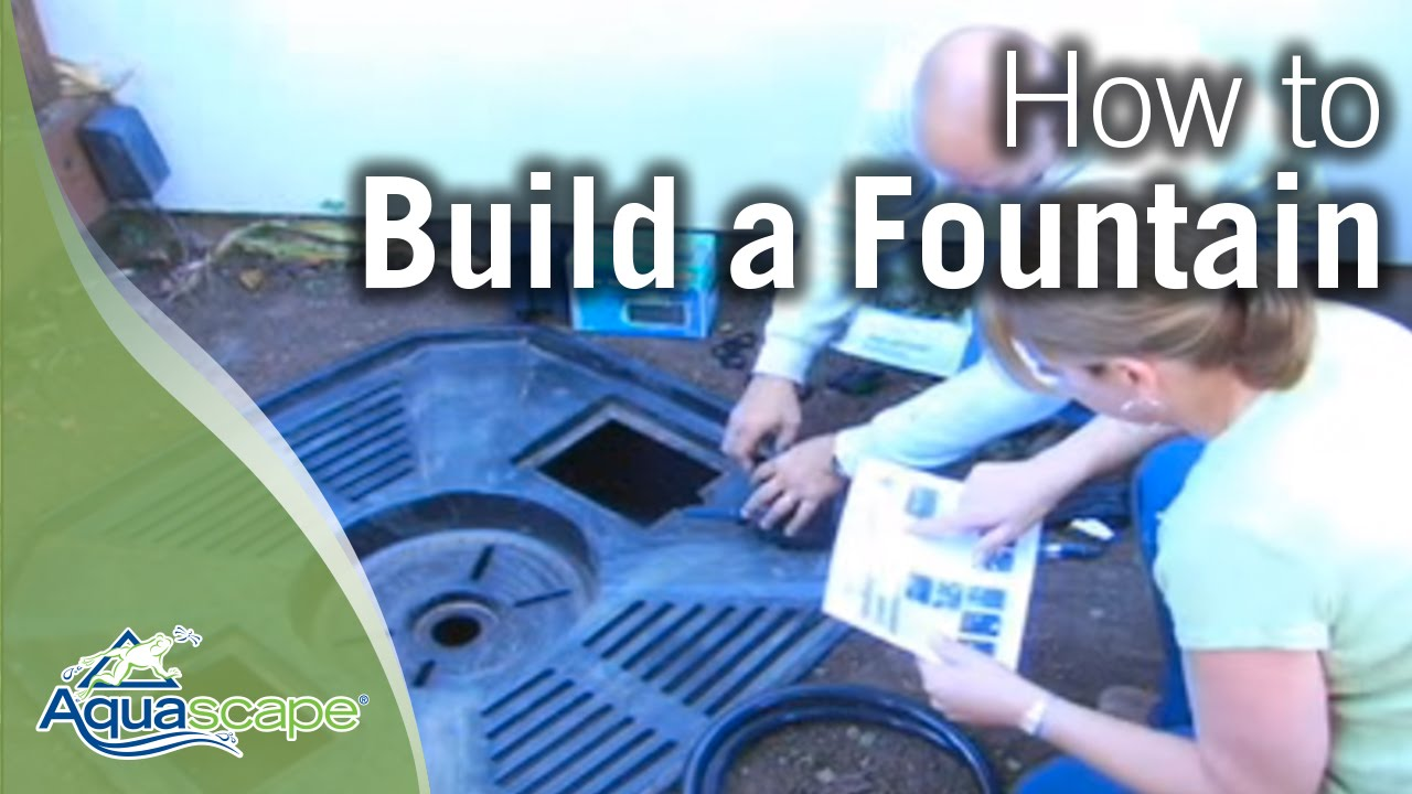 Terra cotta fountain how to build menards youtube - How To Build A Water Feature Fountain