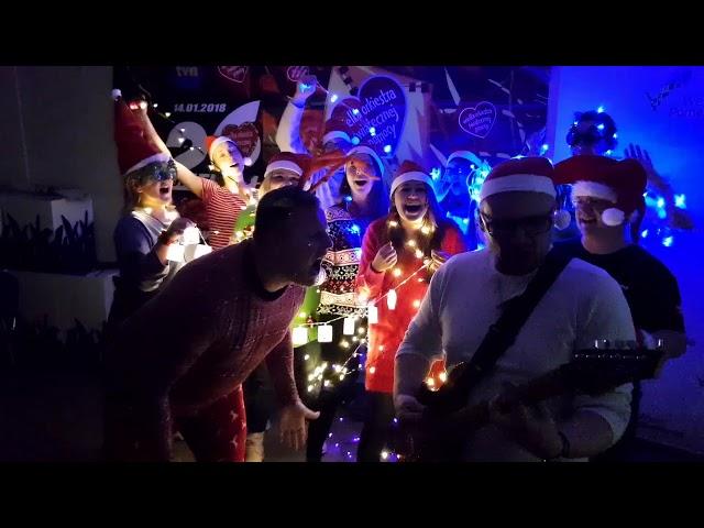 Wesołych Świąt życzy brukselski sztab Wielkiej Orkiestry Świątecznej Pomocy!