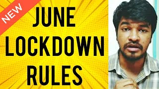 India June Lock New Rules Begins | Tamil | Madan Gowri