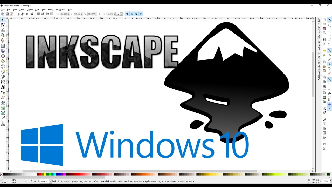 How to install Inkscape on Windows 10