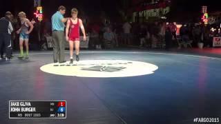 120 5th Place - John Burger (new Jersey) Vs. Jake Gliva (minnesota)