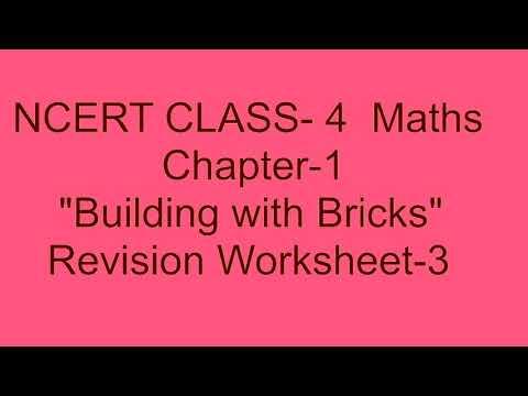 NCERT CLASS-4 MATHS CHAPTER-1