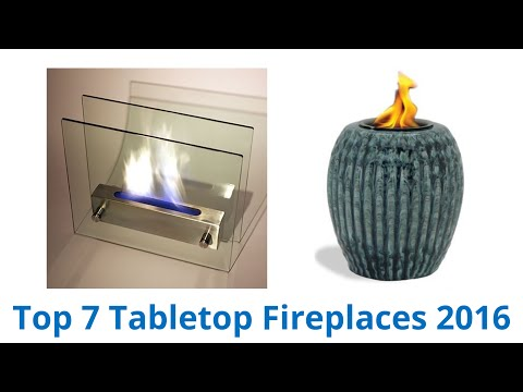 7 Best Tabletop Fireplaces 2016