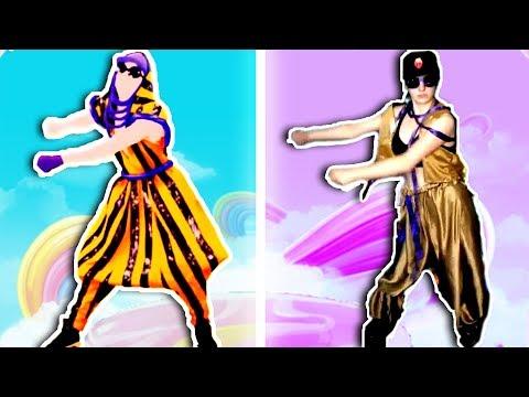 Blindfolded Dancing Challenge | Swish Swish Katy Perry - Just Dance 2018