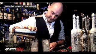 Infosbar Cocktails : Session Tigre Blanc Vodka Avec Ulric