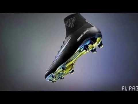 new style d5f7c 077af Los tenis de (Futbol) más ligeros y rápidos del mundo - YouTube